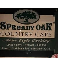 Spready Oak Country Cafe