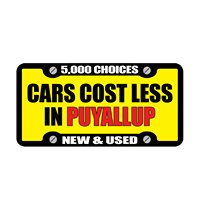 Cars Cost Less in Puyallup