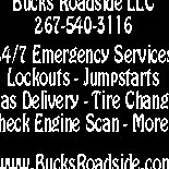 Bucks Roadside Assistance & Locksmith Svc.