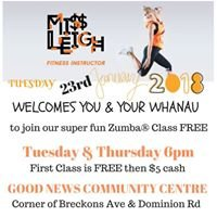 Zumba with Miss Leigh