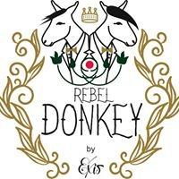 Rebel donkey by exis