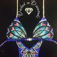 Decked in Diamonds Custom Competition Suits
