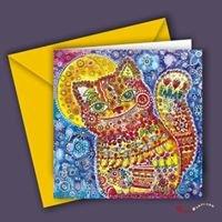 Happy Art Card - Greeting Cards & Fine Art Prints