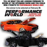 Performance World Custom Car and Truck Show