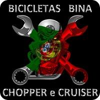 Bicicletas Bina Chopper e Cruiser