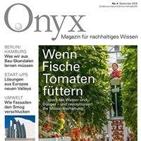 Onyx - Magazin für nachhaltiges Wissen
