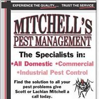 Mitchell's Pest Management