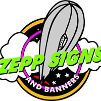 Zepp Signs and Banners