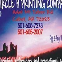 Circle H Printing Co.