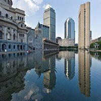 Christian Science Center Reflecting Pool