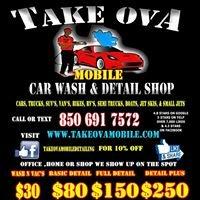 Take Ova Mobile Car Wash & Detail shop -Panama City FL