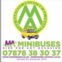 MA Minibuses Lancashire