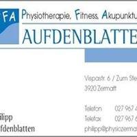 PFA Physio Fitness Akupunktur Aufdenblatten