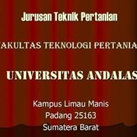 Teknik Pertanian (Agricultural Engineering), Universitas Andalas