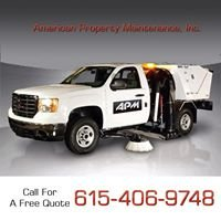 American Property Maintenance - Nashville Parking Lot Sweeping