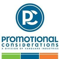 Promotional Considerations 1