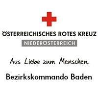 Österreichisches Rotes Kreuz, Bezirkskommando Baden