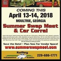 Kelley Automotive Events  DBA. Moultrie Summer Swap Meet & Car Corral