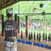 GSU Challenge Program Ropes Course - Indian Creek Recreation Area