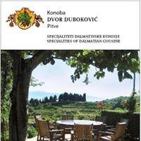 "Konoba ""Dvor Duboković"" Pitve, Croatia"