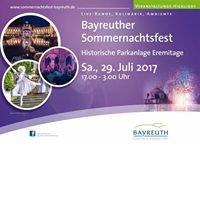 Bayreuther Sommernachtsfest in der Eremitage