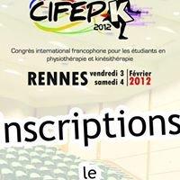 Congrès de formation étudiante : CIFEPk 2012