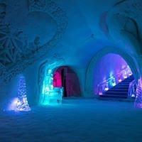 LUVATTUMAA-Levi Ice Gallery,Ice hotel, restaurant.