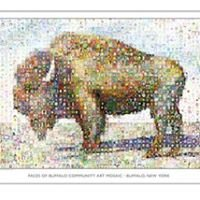 Faces of Buffalo Community Art Mosaics