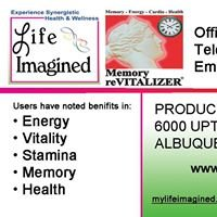 ALZCORP's Memory Revitalizer & Life Imagined