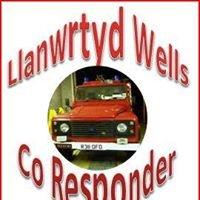 Llanwrtyd Wells Fire Brigade & Co Responder