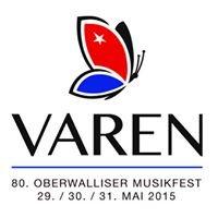 80. Oberwalliser Musikfest 2015 in Varen