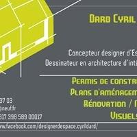 Designer d'Espace - Cyril DARD