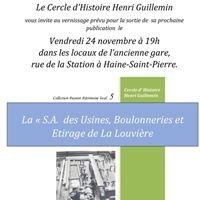 Cercle d'Histoire Henri Guillemin - Haine-Saint-Pierre