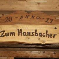 Zum Hansbacher