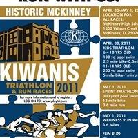 Historic McKinney Kiwanis Triathlon & Run