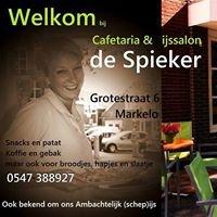 """Cafetaria en ijssalon """"de Spieker"""" Markelo"""