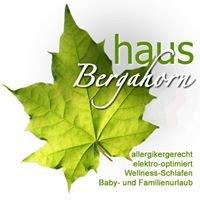 Ferienwohnungen Haus Bergahorn, Kleinkinder-und Babyurlaub im Allgäu