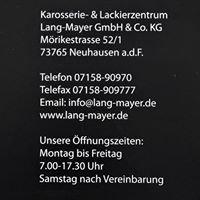 Lang Mayer Karosserie- und Lackierzentrum