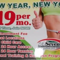 24 Seven Family Fitness & Tanning Centers