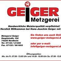 Metzgerei Geiger