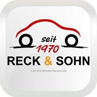 Kfz-Werkstatt RECK & SOHN * Warnemünde