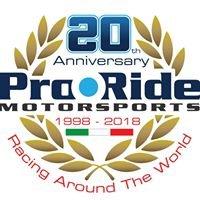 Pro Ride Motorsports K-Tech Suspensions Italy
