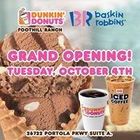 Dunkin' Donuts Baskin Robbins Foothill Ranch