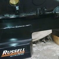 Russell oil pans