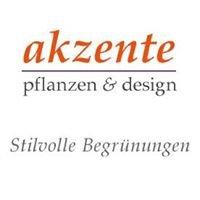 Akzente · pflanzen & design