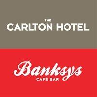 The Carlton and Banksy's Coffee Bar