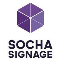 Socha Signage