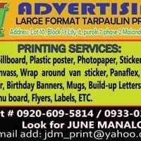 JMM Tarpaulin Printing