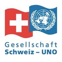 Gesellschaft Schweiz UNO Association Suisse ONU