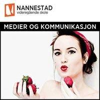 Medier og kommunikasjon - Nannestad videregående skole